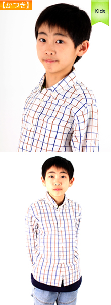撮影モデルで写真撮影、モデル撮影写真 キッズモデル 子供モデル4